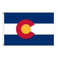 Nylon Colorado State Flags
