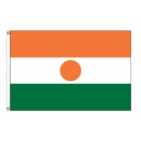 Niger Nylon Flags (UN Member)