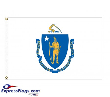 Nylon Massachusetts State FlagsMA-NYL