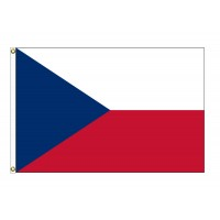 Czech Republic Nylon Flags - (UN Member)