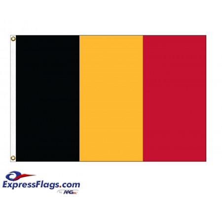 Belgium Nylon Flags - (UN Member)BEL-NYL
