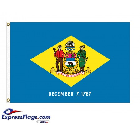 Poly-Max Delaware State FlagsDE-PM