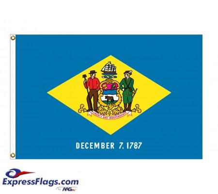 Nylon Delaware State FlagsDE-NYL