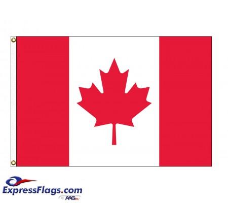 Canada Nylon Flags - (UN, OAS Member)CAN-NYL