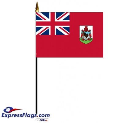 Bermuda Mounted FlagsBMU-MTD