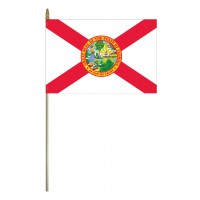 Mounted Florida State Flags