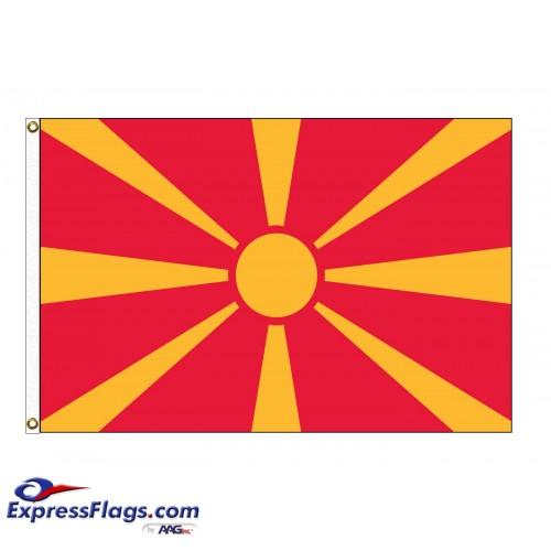 Macedonia Nylon Flags (UN Member)MKD-NYL