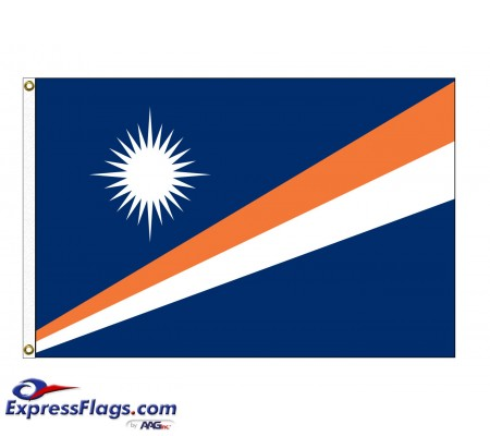 Marshall Islands Nylon Flags (UN Member)MHL-NYL