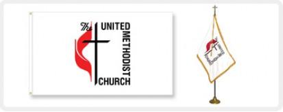 United Methodist Flags