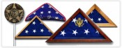 Memorial Flag Cases & Grave Markers