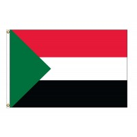 Sudan Nylon Flags (UN Member)