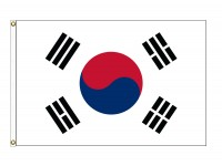 Korea, South Nylon Flags (UN Member)