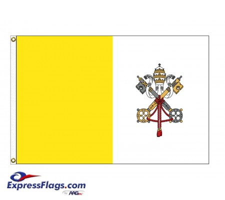 Vatican City (Papal) Nylon FlagsVAT-NYL