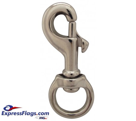Chrome Plated Brass Swivel Snaps350128
