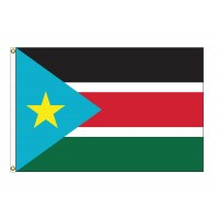 South Sudan Nylon Flags (UN Member)
