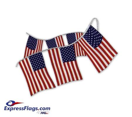 U.S. Flag Pennant StringsRP-P60