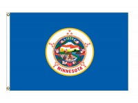 Nylon Minnesota State Flags