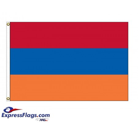 Armenia Nylon Flags (UN Member)ARM-NYL