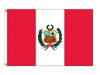 Peru Nylon Flags (UN, OAS Member)