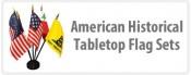 American Historical Tabletop Flag Sets