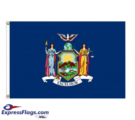 Poly-Max New York State FlagsNY-PM