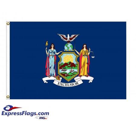 Nylon New York State FlagsNY-NYL