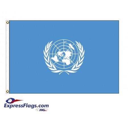 United Nations (UN) Nylon FlagsUN-NYL
