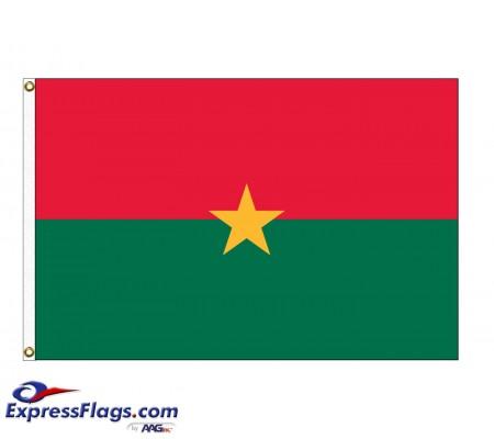 Burkina Nylon Flags (UN Member)BFA-NYL