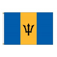 Barbados Nylon Flags - (UN, OAS Member)