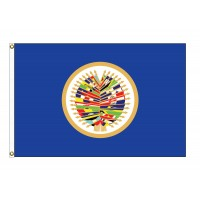 OAS Nylon Flags ( Organization of American States )