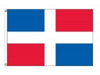 Dominican Republic Nylon Flags - (No Seal)