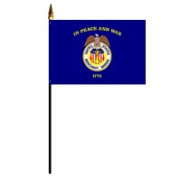 Merchant Marine Flags - Stick Mounted