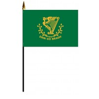 Erin Go Bragh Mounted Flags