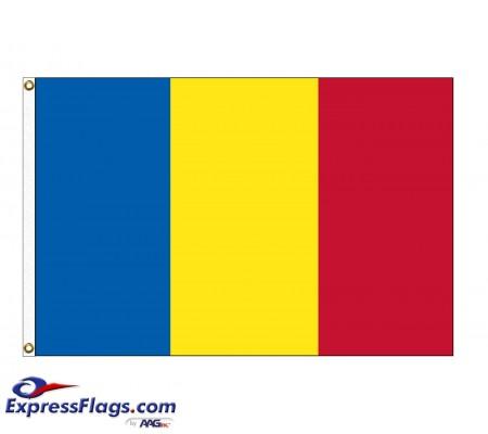 Andorra Nylon Flags without SealAND-NYL-2