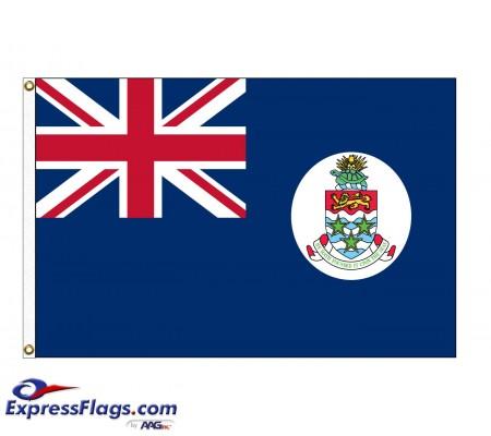 Cayman Islands Nylon Flags  (UN Member)CYM-NYL