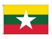 Myanmar Nylon Flags (UN Member)