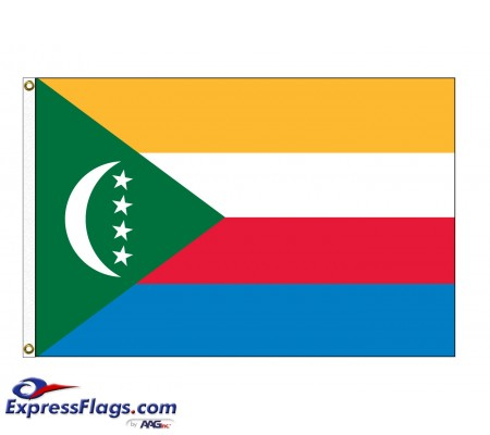 Comoros Nylon Flags  (UN Member)COM-NYL