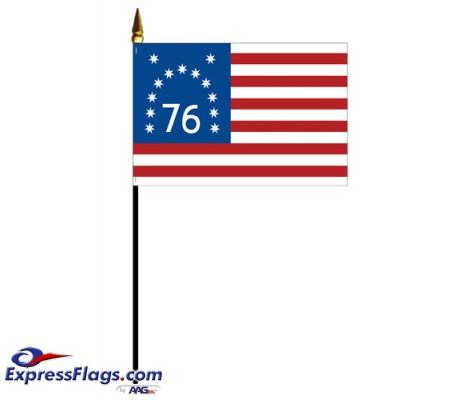 Mounted Bennington Flags060695
