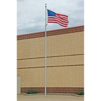 20 ft. Vanguard Aluminum Flagpole (0.125) - Internal Halyard
