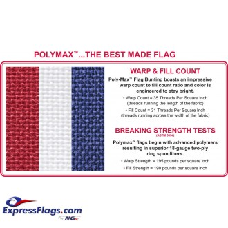 ULTIMA POLY-MAX American Flags -  Everlast 300+PM-USF