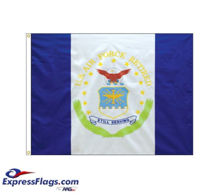 Air Force Retired Flags - 3  x 4070188