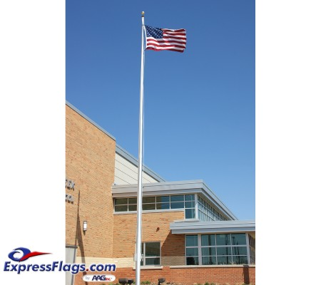 45 ft. Architectural Series Aluminum Flagpole - External HalyardEC45