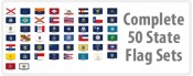 Complete 50 State Flag Sets