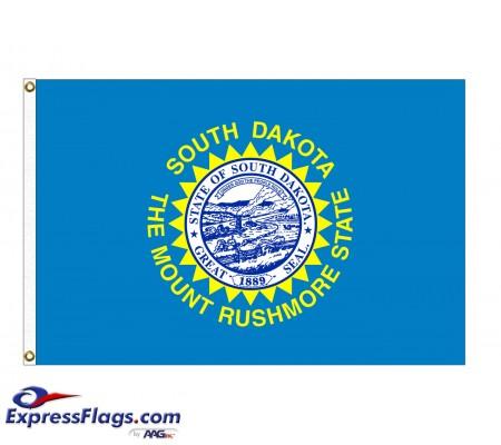Nylon South Dakota State FlagsSD-NYL