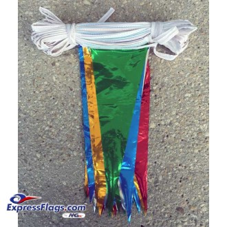 6in x 18in Metallic Pennant StringsRP-M-6