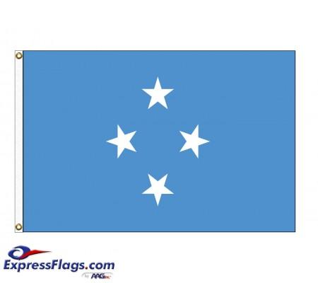 Micronesia Nylon Flags (UN Member)FSM-NYL