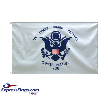 Coast Guard Retired Flags - 3  x 5070190