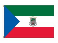 Equatorial Guinea Nylon Flags (UN Member)
