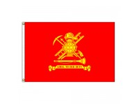 Firemen Flag - 3' x 5' Endura-Nylon