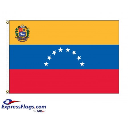 Venezuela Nylon Flags (UN, OAS Member)VEN-NYL